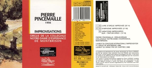 """""""Improvisations à l'orgue"""" par Pierre Pincemaille à Montbrison"""