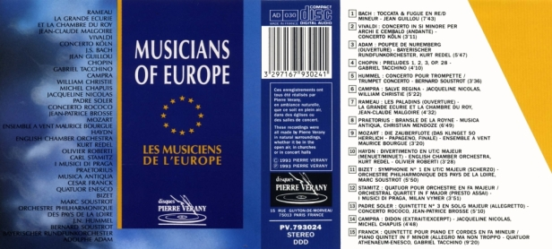 PV793024-Musicians of Europe
