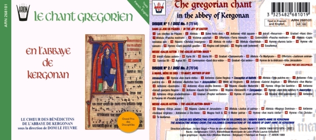 ARN268101-Chants Gregoriens
