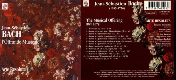 ARN68526-Bach Offrande musicale